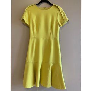 Banana Republic Yellow Work Dress